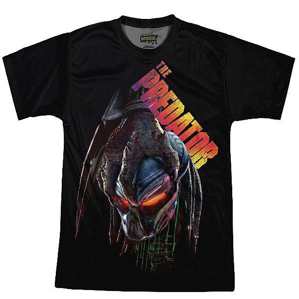 Camiseta Masculina Predador Estampa Digital Md03