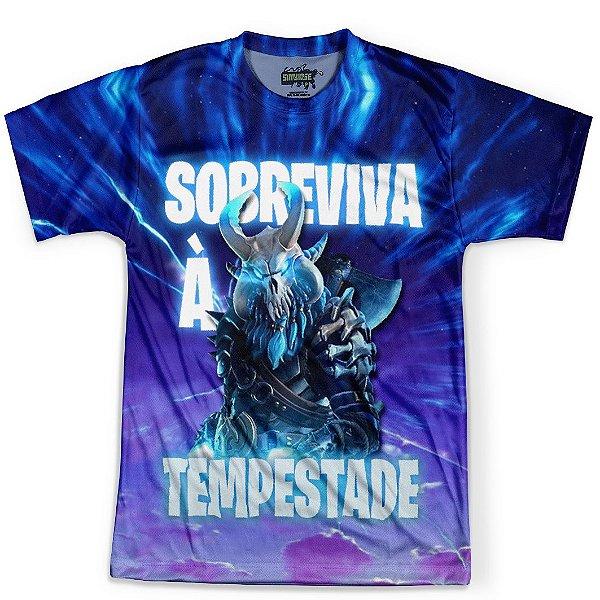 Camiseta Masculina Fortnite MD04