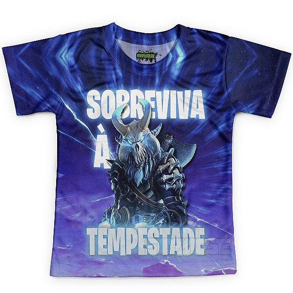Camiseta Infantil Fortnite MD04