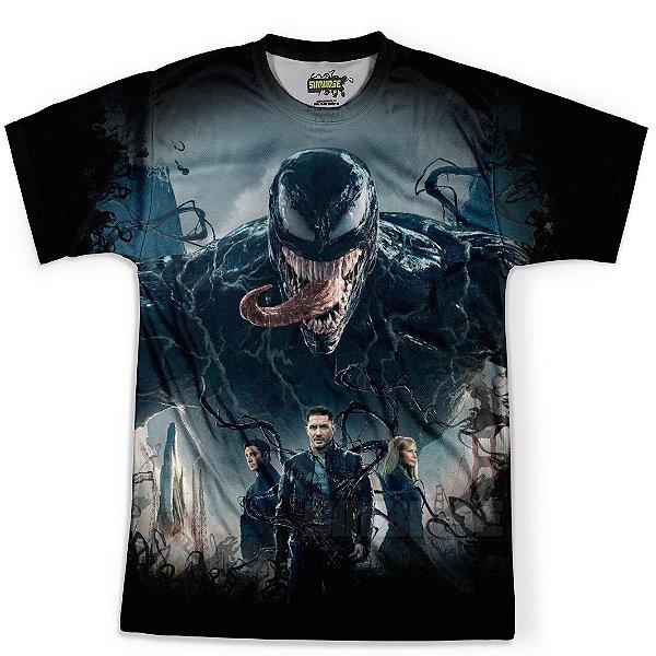 Camiseta Masculina Venom MD02