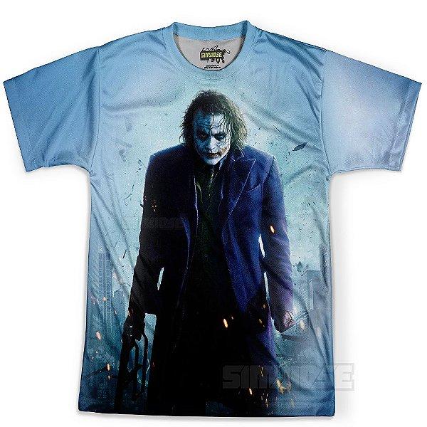 Camiseta Masculina Coringa Joker Estampa Total MD02