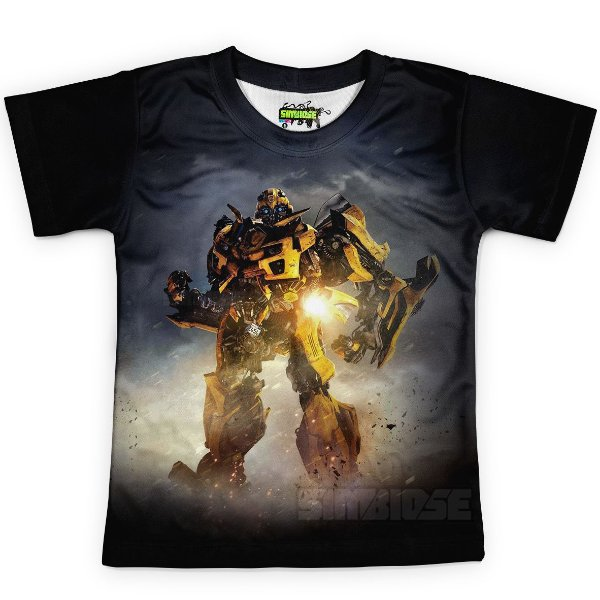 Camiseta Infantil Bumblebee Transformers MD04