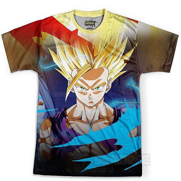 Camiseta Masculina Gohan Dragon Ball Z MD14
