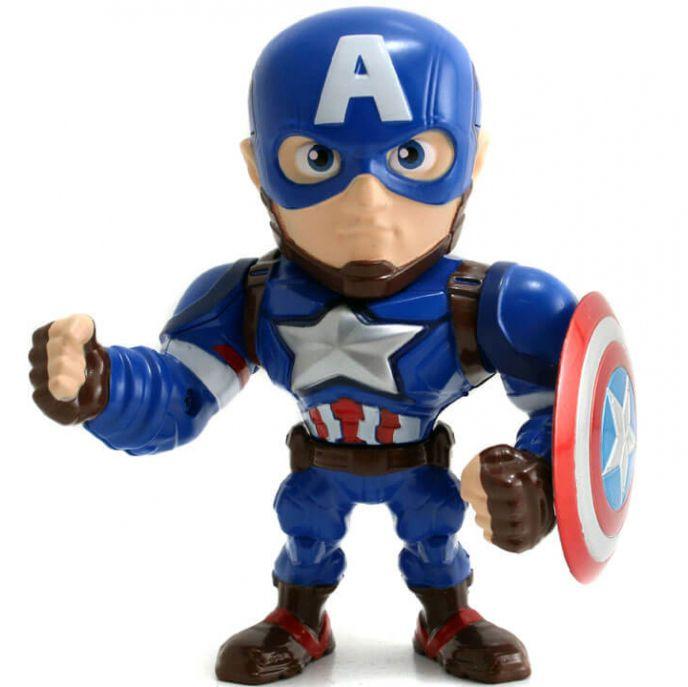Capitão América 10cm metals Die Cast Vingadores Avangers M45