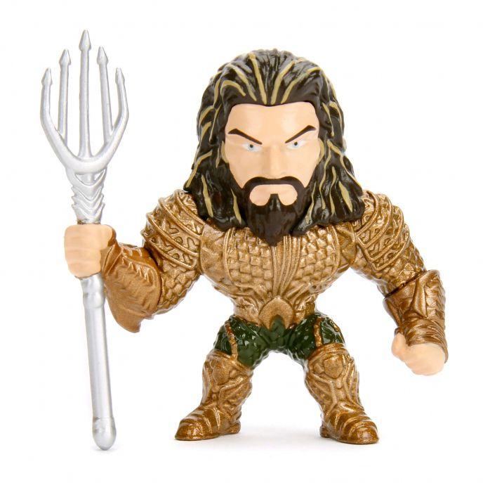 Aquaman 6 cm metals Die Cast Liga da Justiça DC M543