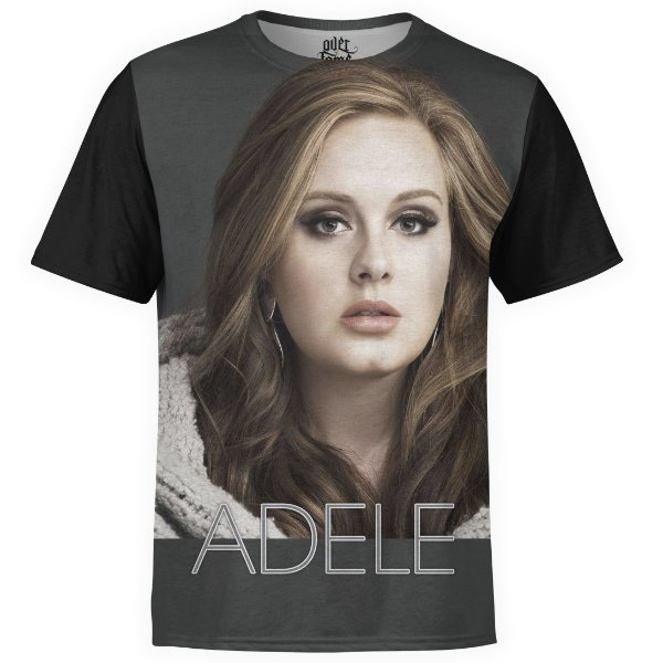 Camiseta masculina Adele Estampa Digital md03