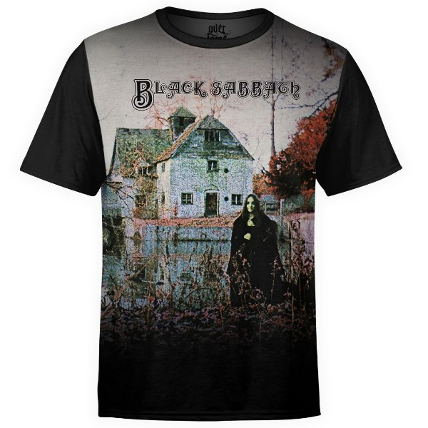 Camiseta masculina Black Sabbath Estampa Digital md01