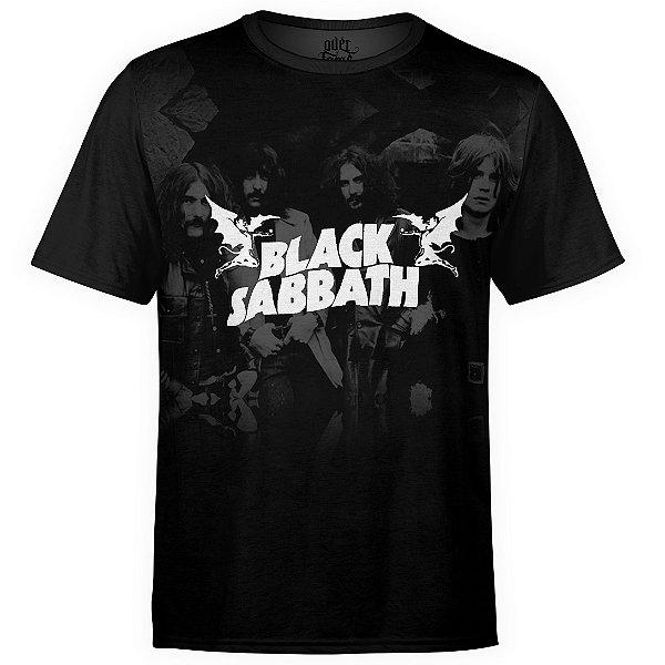 Camiseta masculina Black Sabbath Estampa Digital md03