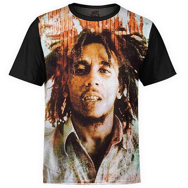 Camiseta masculina Bob Marley Estampa Digital md02