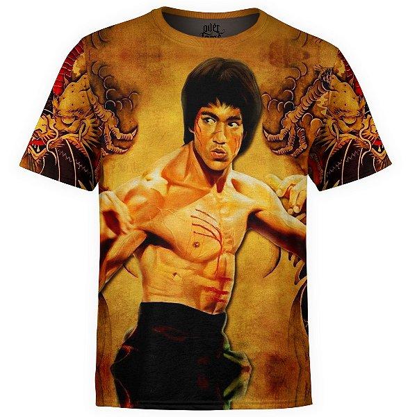 Camiseta masculina Bruce Lee Estampa Digital md01