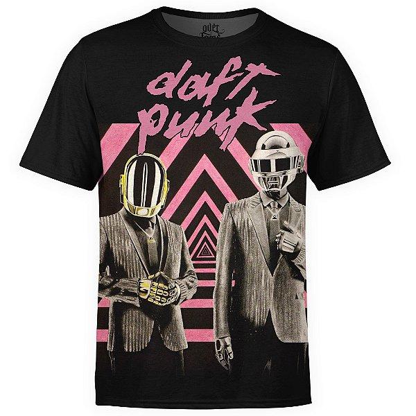 Camiseta masculina Daft Punk Estampa digital md01