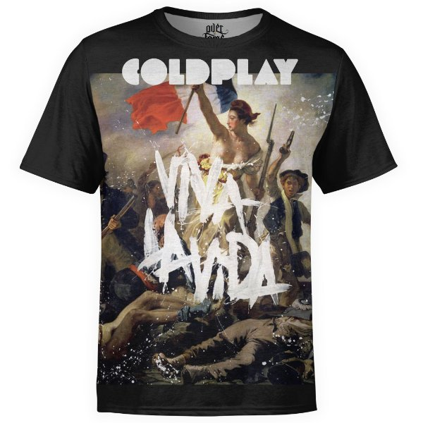 Camiseta masculina Coldplay Estampa digital md03
