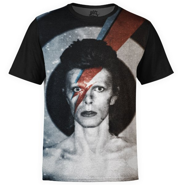 Camiseta masculina David Bowie Estampa digital md01