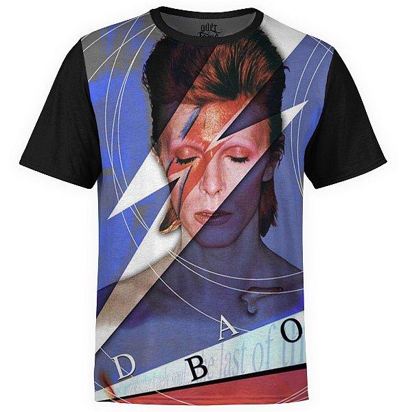 Camiseta masculina David Bowie Estampa digital md02