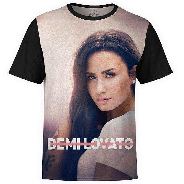 Camiseta masculina Demi Lovato Estampa digital md01