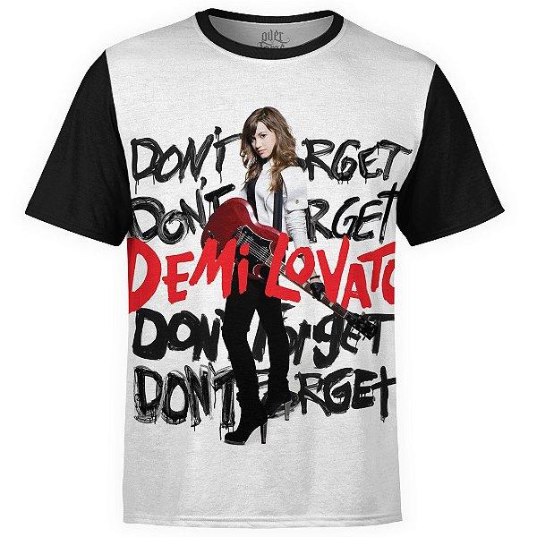 Camiseta masculina Demi Lovato Estampa digital md03