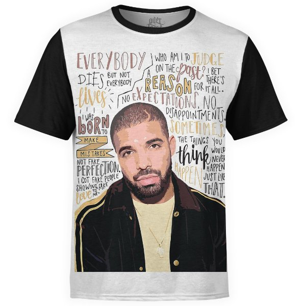 Camiseta masculina Drake Estampa digital md05