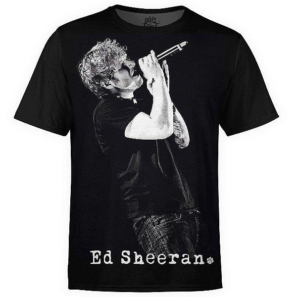 Camiseta masculina Ed Sheeran Estampa digital md01