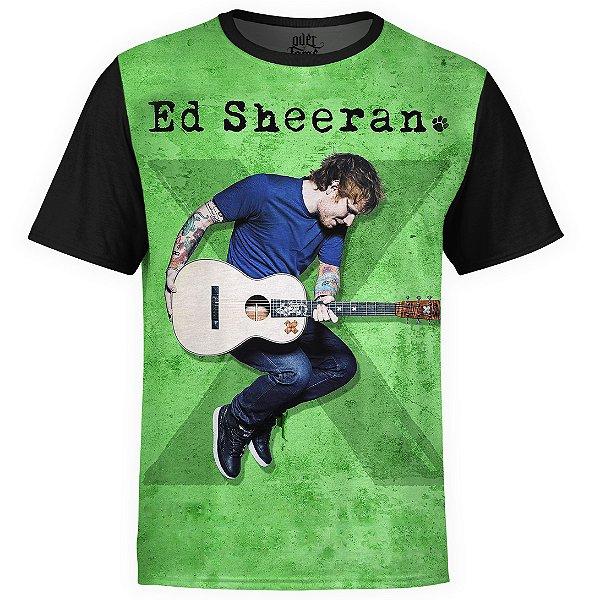 Camiseta masculina Ed Sheeran Estampa digital md02