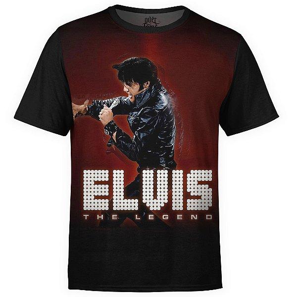 Camiseta masculina Elvis Presley Estampa digital md01