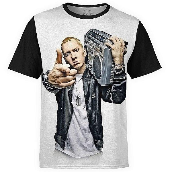 Camiseta masculina Eminem Estampa digital md01