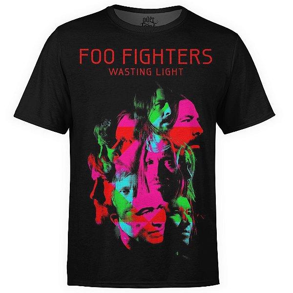 Camiseta masculina Foo Fighters Estampa digital md04