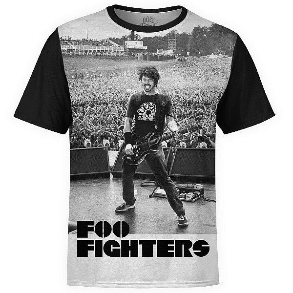 Camiseta masculina Foo Fighters Estampa digital md06