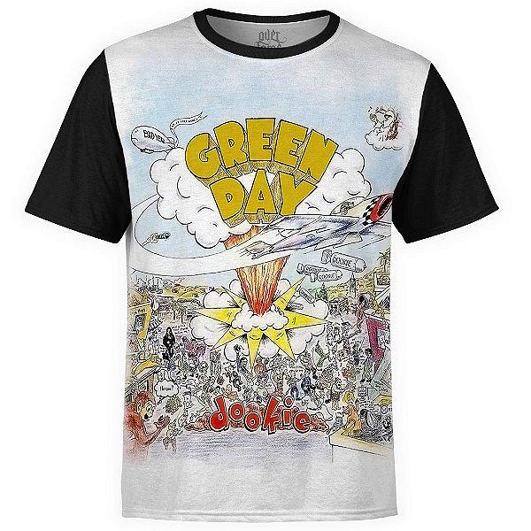 Camiseta masculina Green Day Estampa digital md01