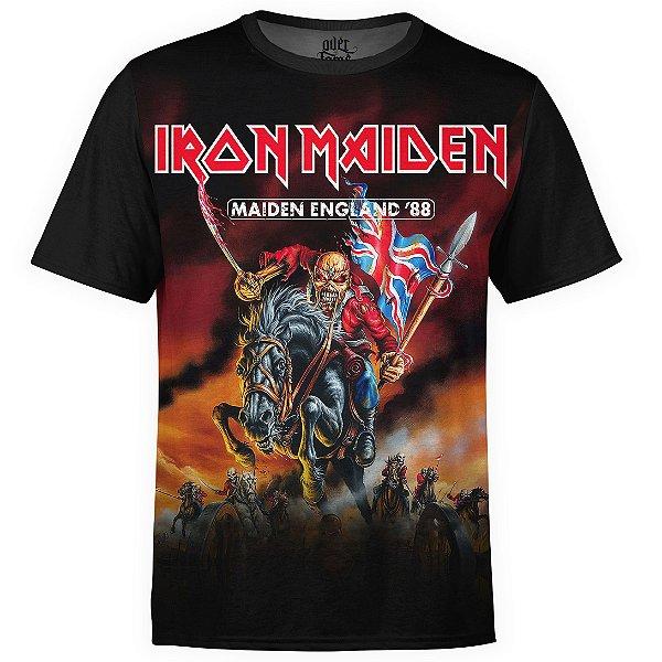 Camiseta masculina Iron Maiden Estampa digital md02