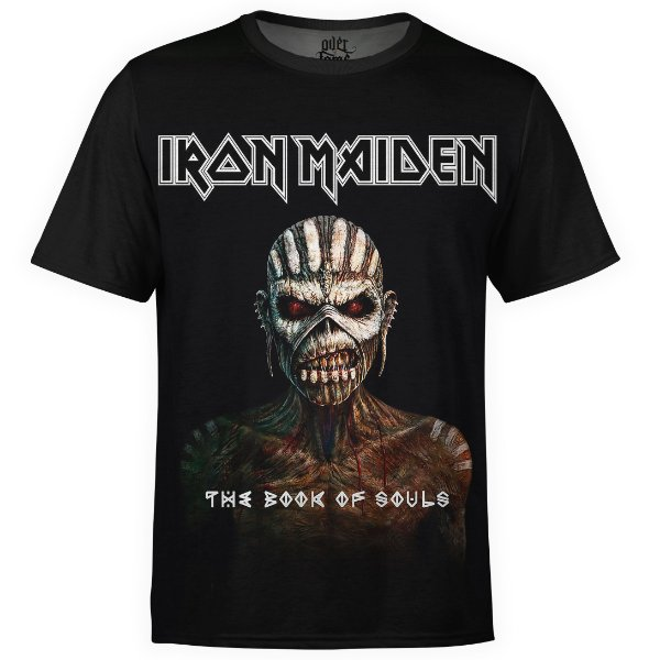 Camiseta masculina Iron Maiden Estampa digital md03