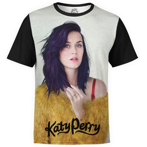 Camiseta masculina Katy Perry Estampa digital md02