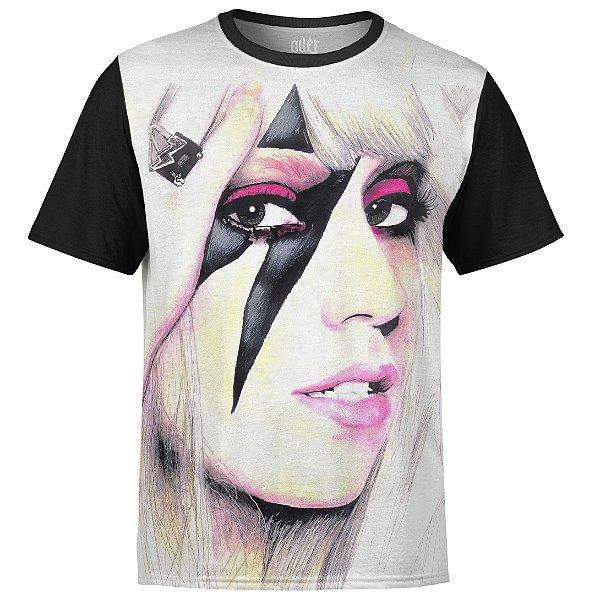 Camiseta masculina Lady Gaga Estampa digital md01
