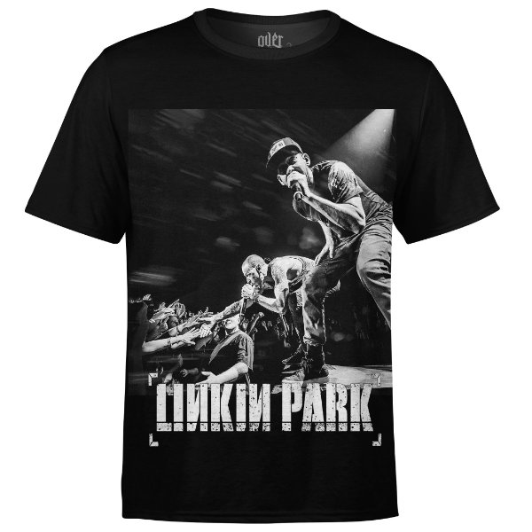 Camiseta masculina Linkin Park Estampa digital md03