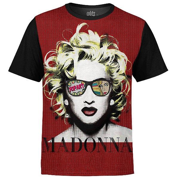 Camiseta masculina Madonna Estampa digital md02