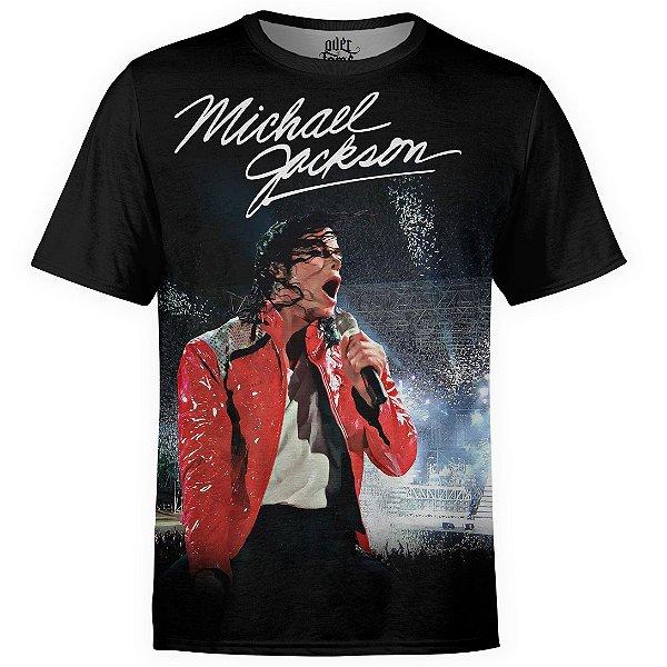 Camiseta masculina Michael Jackson Estampa digital md01