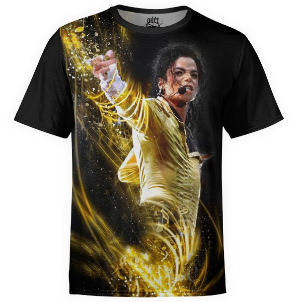 Camiseta masculina Michael Jackson Estampa digital md03