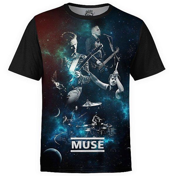 Camiseta masculina Muse Estampa digital md02