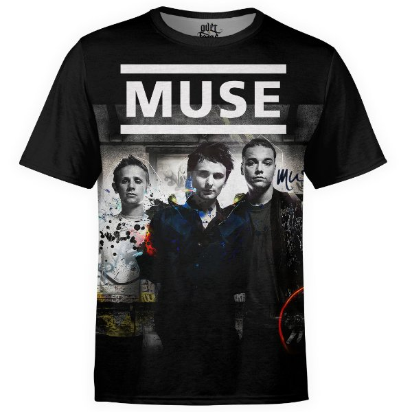 Camiseta masculina Muse Estampa digital md01