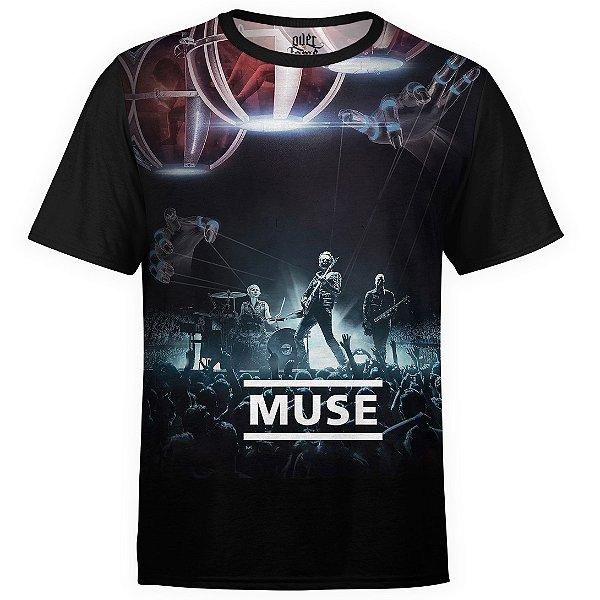 Camiseta masculina Muse Estampa digital md03