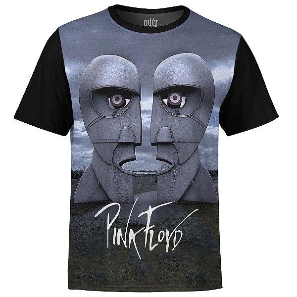 Camiseta masculina Pink Floyd Estampa digital md02