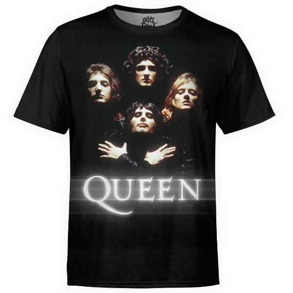 Camiseta masculina Queen Estampa digital md01