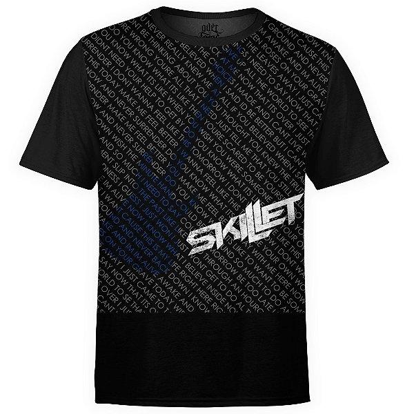 Camiseta masculina Skillet Estampa digital md02