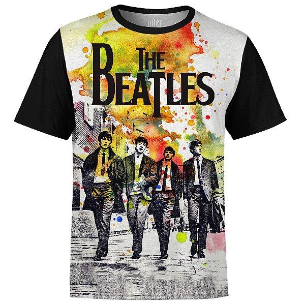 Camiseta masculina The Beatles Estampa digital md01