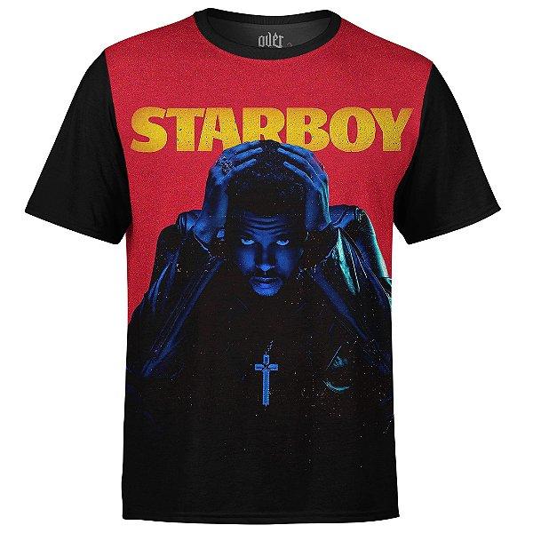 Camiseta masculina The Weeknd Estampa digital md01