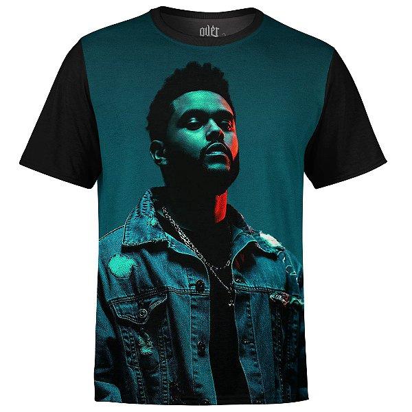 Camiseta masculina The Weeknd Estampa digital md03