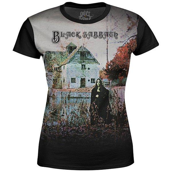 Camiseta Baby Look Feminina Black Sabbath md01