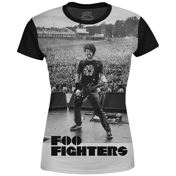 Camiseta Baby Look Feminina Foo Fighters md06