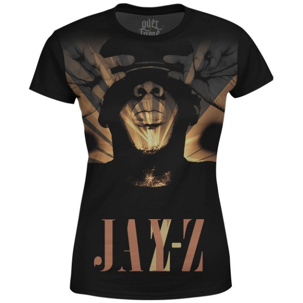 Camiseta Baby Look Feminina Jay-Z Estampa digital md03