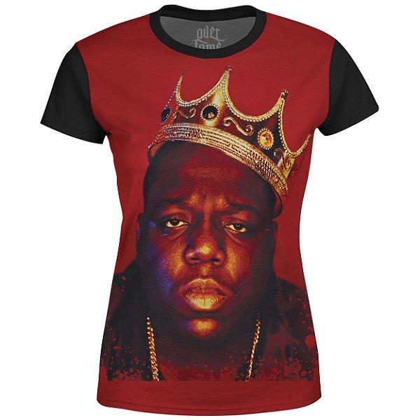 Camiseta Baby Look Feminina Notorious BIG md01