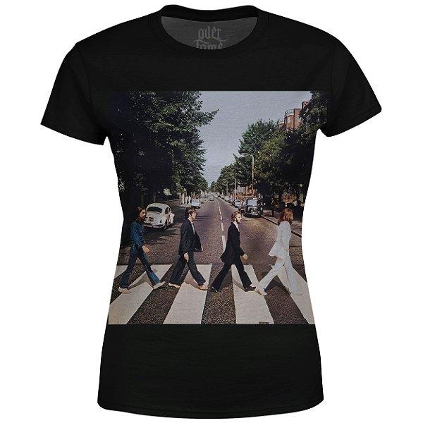 Camiseta Baby Look The Beatles Estampa digital md02